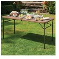 Greenhurst Wood Grain Folding Table