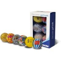 Longridge Decade Design Golf Balls 6 Pack