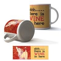 There Is Wine In Here Boxed Mug
