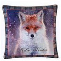 Hello Winter Cushion Cover