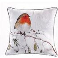 robin snow watch cushion cover