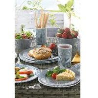 16-piece Melamine Dinner Set
