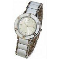 ladies oasis white watch