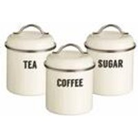 Typhoon Retro Cream 3 Piece Storage Set