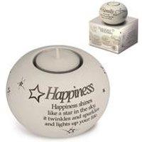 Said with Sentiment Tea Light - Happiness