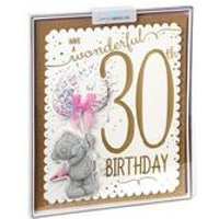 Me To You 30th Birthday Boxed Card