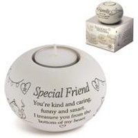 Said with Sentiment Tea Light - Special Friend