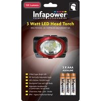 Infapower 3 Watt LED Head Torch