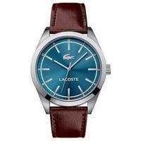 gents brown edmonton lacoste watch