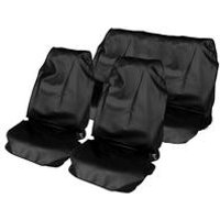 Waterproof Seat Protector Set Black