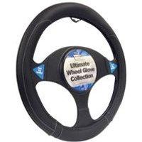 Black Sports Grip Wheel Cover