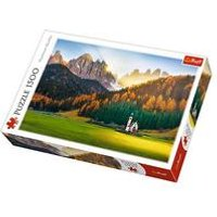 1500 Piece Church In the Dolomites Jigsaw Puzzle