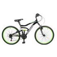 "Muddyfox 24"" Delta MFX Boys Dual Suspension Bike"