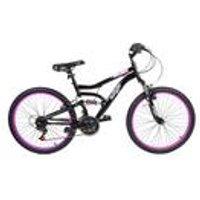 """Muddyfox 24"""" Inca MFX Girls Dual Suspension Bike"""