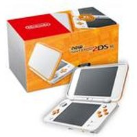 Nintendo New 2DS XL White and Orange
