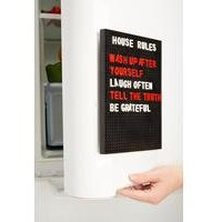 Magnetic Fridge Peg Board