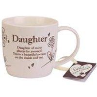 Daughter Said with Sentiment Mug