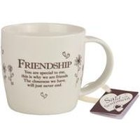 Friendship Said with Sentiment Mug