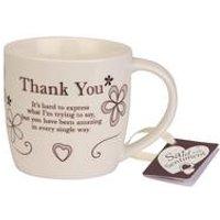 Said with Sentiment Mug - Thank You