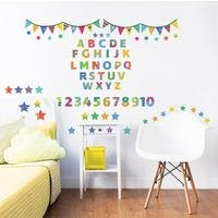 ABC 123 Learn with Me Wall Stickers