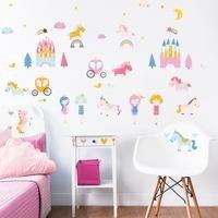 Unicorn Kingdom Wall Stickers