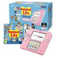 Nintendo White and Red 2DS +Tomodachi Life