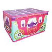 Princess Carriage Foldable Storage Chest