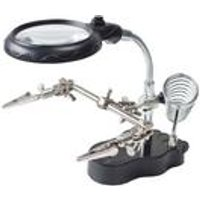 Helping Hand LED Magnifier Set and Soldering Stand