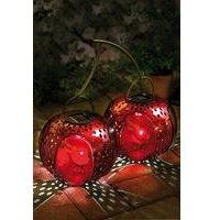 Solar Light Silhouette - Cherries