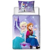 Disney Frozen Transparent Junior Panel Duvet Set