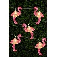 Solar String Lights - Flamingo