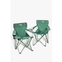 Pack Of 2 Essential Camping Chairs
