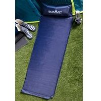 Summit Self-Inflating Camp Mat with Pillow