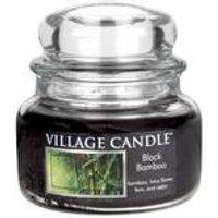 Village Candle Black Bamboo 11oz Jar