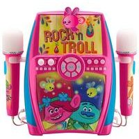 Trolls Sing-Along Boombox + Dual Microphones