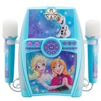 Disney Frozen Sing-Along Boombox + Dual Microphones