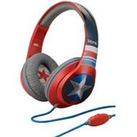 Marvel Captain America Headphone + Inline Mic