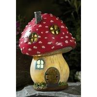 Solar Fairy Toadstool House