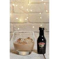 Baileys Mini, Glass and Chocolates