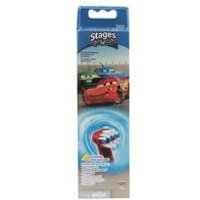 Oral B Kids Disney Cars Brush Heads - Pack of 4