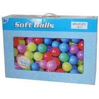 100 Multi-Coloured Play Balls