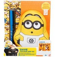 Dave Despicable Me 3 Small Colour and Go Friend