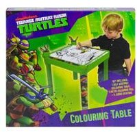 Teenage Mutant Ninja Turtles Colouring Table