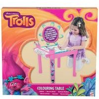 Trolls Colouring Table