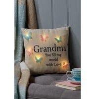 Light Up Butterfly Cushion Grandma