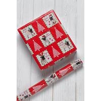 5m Photographic Pugs Wrapping Paper