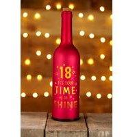 Light Up Bottle 18