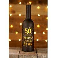 Light Up Bottle 50