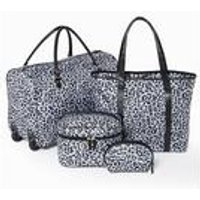 Leopard Weekend Bag Set