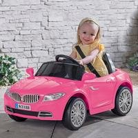 Pink Sports Car Kids Ride On